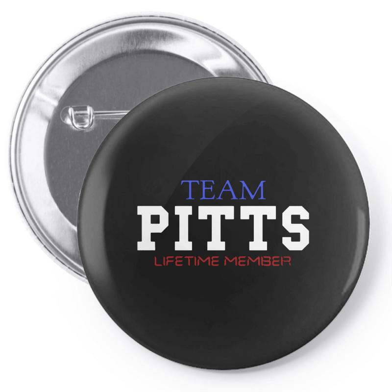 Team Pitts Pin-back Button | Artistshot