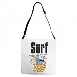 surf california Adjustable Strap Totes | Artistshot