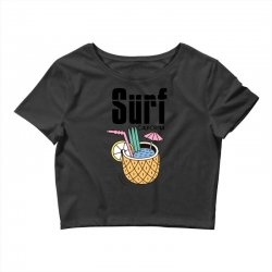 surf california Crop Top | Artistshot