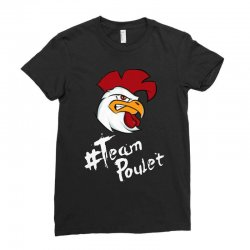 team poulet Ladies Fitted T-Shirt | Artistshot