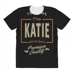 Katie All Over Women's T-shirt | Artistshot