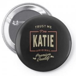 Katie Pin-back button | Artistshot