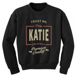 Katie Youth Sweatshirt | Artistshot