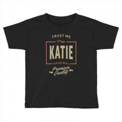 Katie Toddler T-shirt | Artistshot