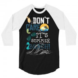 497281a0 Custom Don't Care It's Summer Beach 1 T-shirt By Wizarts - Artistshot