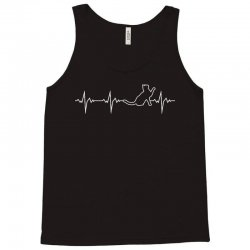 cat heartbeat Tank Top | Artistshot