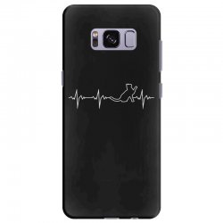 cat heartbeat Samsung Galaxy S8 Plus Case | Artistshot