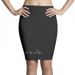 cat heartbeat Pencil Skirts | Artistshot