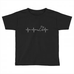 cat heartbeat Toddler T-shirt | Artistshot