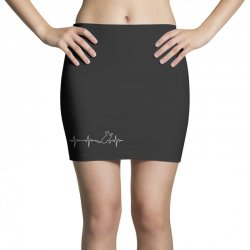 cat heartbeat Mini Skirts | Artistshot
