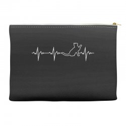 cat heartbeat Accessory Pouches | Artistshot