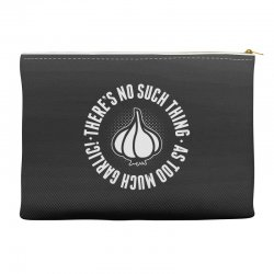 can't ever have too much garlic Accessory Pouches | Artistshot