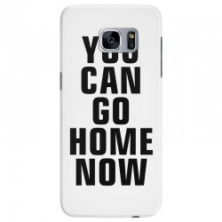 you can go home now (black) Samsung Galaxy S7 Edge Case | Artistshot