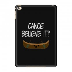 canoe believe it funny pun (can you) iPad Mini 4 Case | Artistshot
