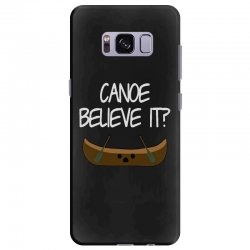 canoe believe it funny pun (can you) Samsung Galaxy S8 Plus Case | Artistshot