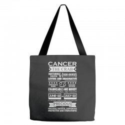 cancer the crab zodiac sign characteristics Tote Bags | Artistshot