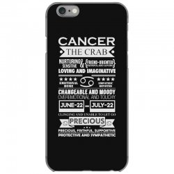 cancer the crab zodiac sign characteristics iPhone 6/6s Case | Artistshot