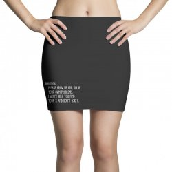 dear math please grow old and solve your own problems Mini Skirts | Artistshot