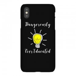 dangerously overeducated iPhoneX Case | Artistshot