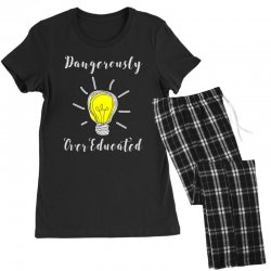 dangerously overeducated Women's Pajamas Set | Artistshot