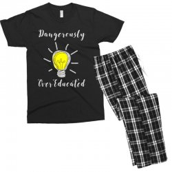 dangerously overeducated Men's T-shirt Pajama Set | Artistshot