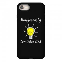 dangerously overeducated iPhone 8 Case | Artistshot