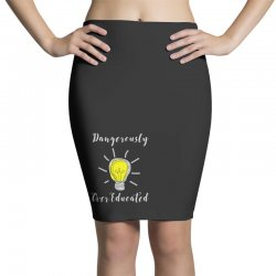 dangerously overeducated Pencil Skirts | Artistshot