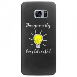 dangerously overeducated Samsung Galaxy S7 Edge Case | Artistshot