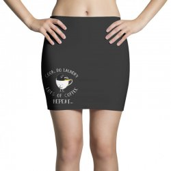 cook do laundry lots of coffee repeat Mini Skirts | Artistshot