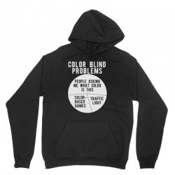 color blind problems people asking me what color is this Unisex Hoodie   Artistshot