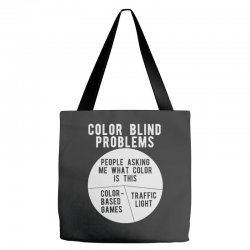 color blind problems people asking me what color is this Tote Bags   Artistshot