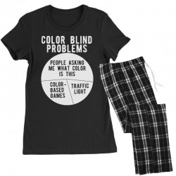 color blind problems people asking me what color is this Women's Pajamas Set   Artistshot