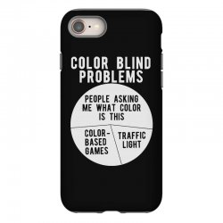 color blind problems people asking me what color is this iPhone 8 Case   Artistshot