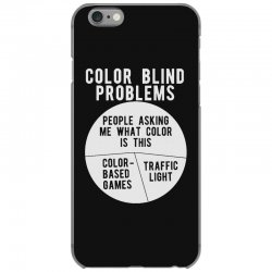color blind problems people asking me what color is this iPhone 6/6s Case   Artistshot