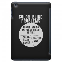 color blind problems people asking me what color is this iPad Mini Case   Artistshot
