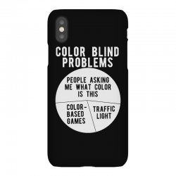 color blind problems people asking me what color is this iPhoneX Case   Artistshot
