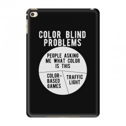 color blind problems people asking me what color is this iPad Mini 4 Case   Artistshot