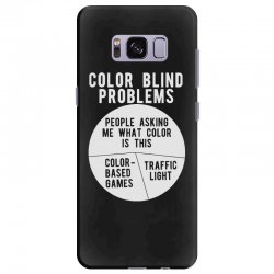 color blind problems people asking me what color is this Samsung Galaxy S8 Plus Case   Artistshot