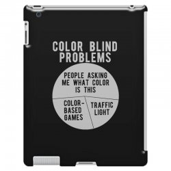 color blind problems people asking me what color is this iPad 3 and 4 Case   Artistshot