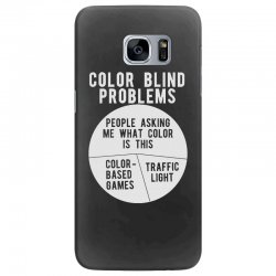 color blind problems people asking me what color is this Samsung Galaxy S7 Edge Case   Artistshot