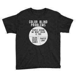 color blind problems people asking me what color is this Youth Tee   Artistshot