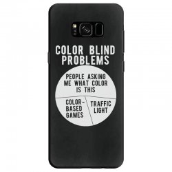 color blind problems people asking me what color is this Samsung Galaxy S8 Case   Artistshot