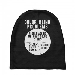 color blind problems people asking me what color is this Baby Beanies   Artistshot