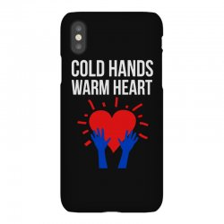 cold hands warm heart iPhoneX Case | Artistshot