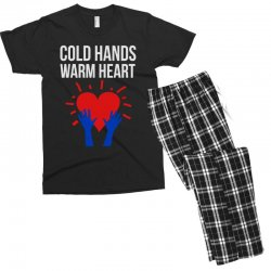 cold hands warm heart Men's T-shirt Pajama Set | Artistshot