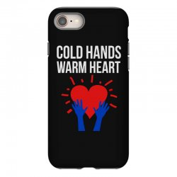 cold hands warm heart iPhone 8 Case | Artistshot