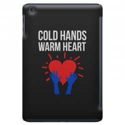 cold hands warm heart iPad Mini Case | Artistshot