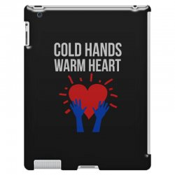 cold hands warm heart iPad 3 and 4 Case | Artistshot