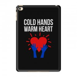 cold hands warm heart iPad Mini 4 Case | Artistshot