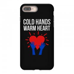 cold hands warm heart iPhone 8 Plus Case | Artistshot